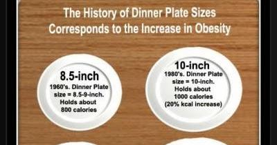 sc 1 st  Dr. Lindsayu0027s Blog - Blogger & Dr. Lindsayu0027s Blog: What size is your dinner plate?