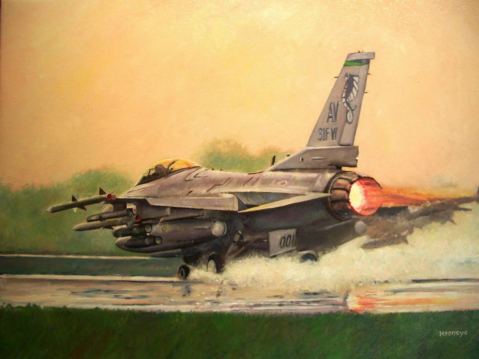 Bob\'s Art Gallery: Fighter Aviation