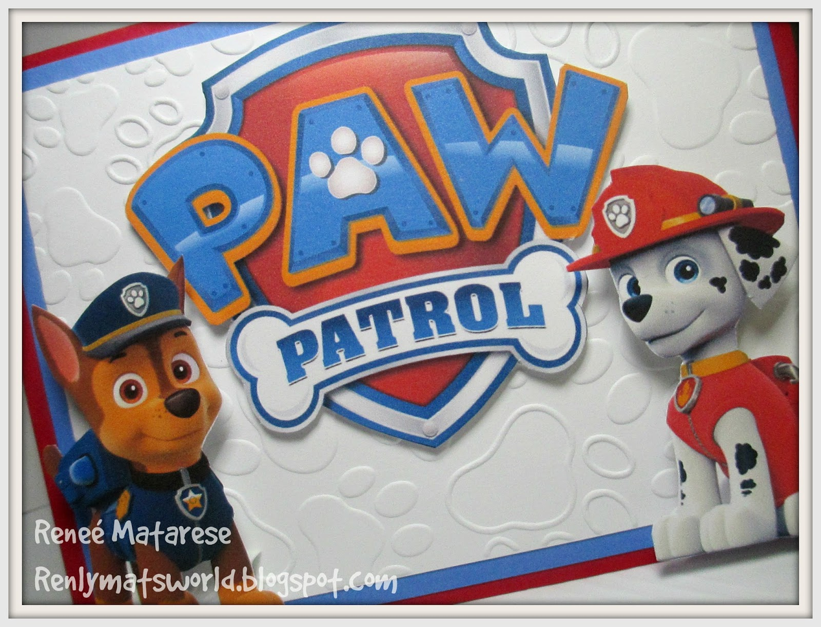 image about Paw Patrol Printable Birthday Card referred to as Paw Patrol Birthday Card: Paw Patrol Birthday Card Paw