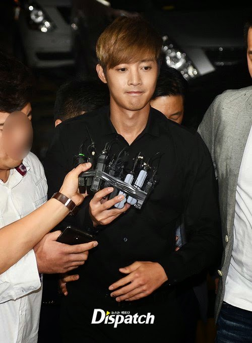 Kim Hyun Joong makes his first media appearance, 'I'll be honest during the investigation'
