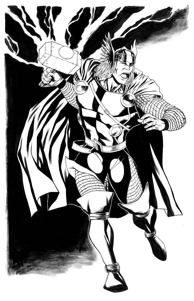 Thor coloring pages coloring pages for Marvel thor coloring pages