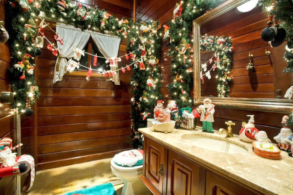 Decorar Baño Navidad:Decorar baño navidad