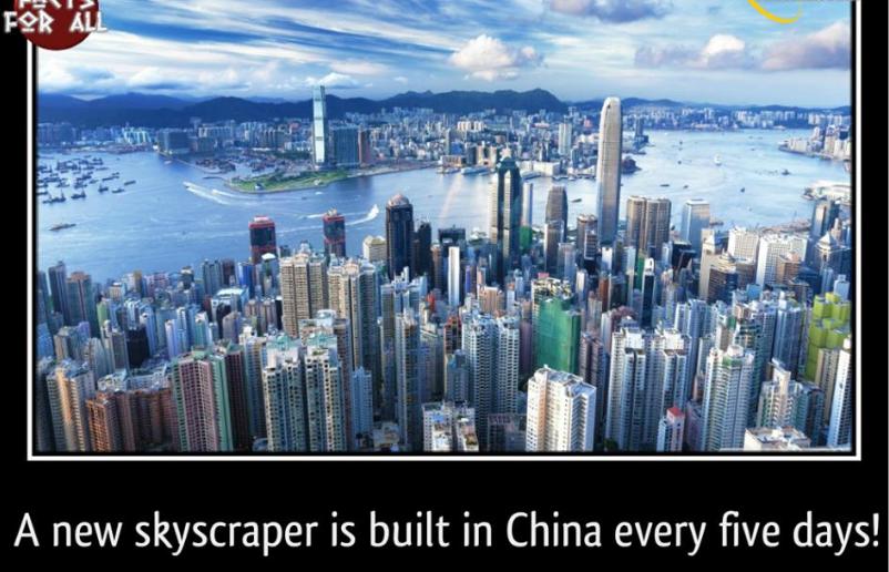 skyscraper, china