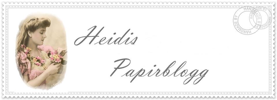 Heidis papirblogg