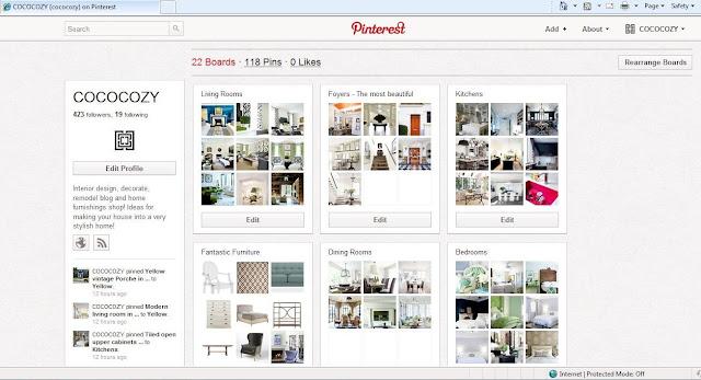 Screen grab of Nbaynadamas Pinterest