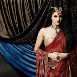 Mandira Bedi Hot Photoshoot Stills from Gaja Jewellery AD