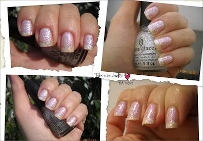 nails uñas esmaltes nail polish snow globe china glaze