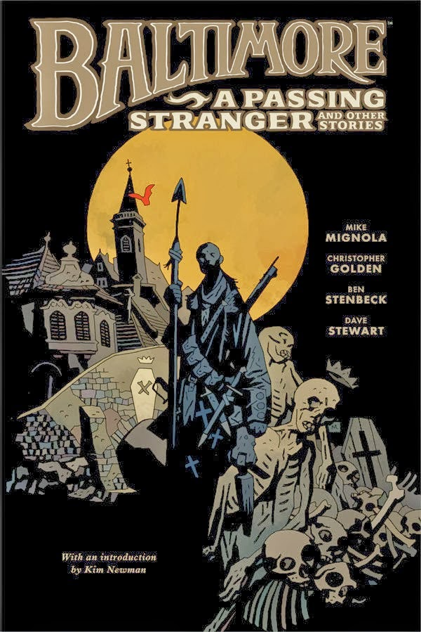 baltimore 3 forastero comic mignola norma editorial