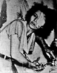 A newly captured Blanche Barrow