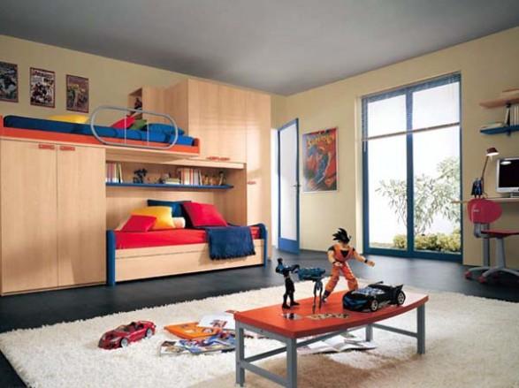 Dormitorios minimalistas para ni os habitaciones for Recamaras para jovenes minimalistas