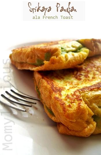 Srikaya Pandan Ala French Toast