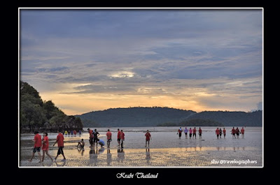 Noppharat Thara Beach, Ao Nang Beach, Pantai, Sunset, Senja, Krabi, Thailand, Phuket, Backpacking, travel, south east asia
