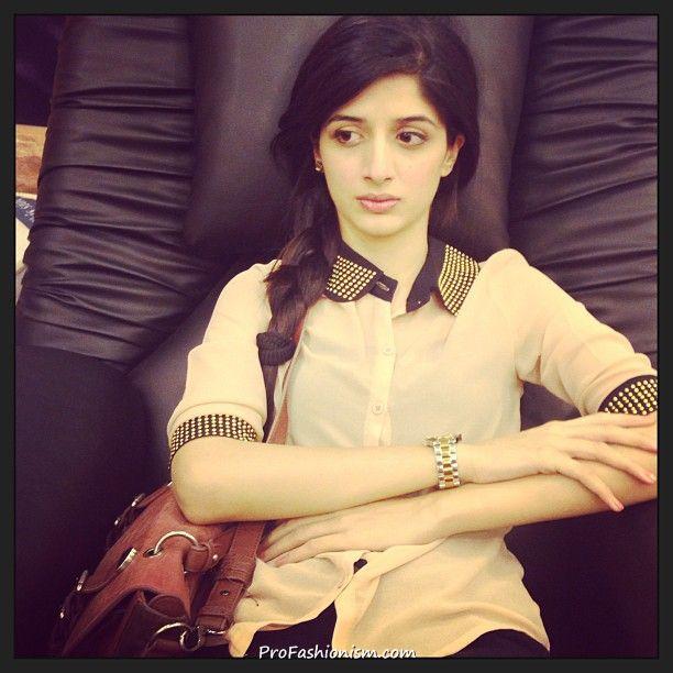 Mawra Hocane in a Sweet Looking Shirt - Pakistani Celebrities Updates