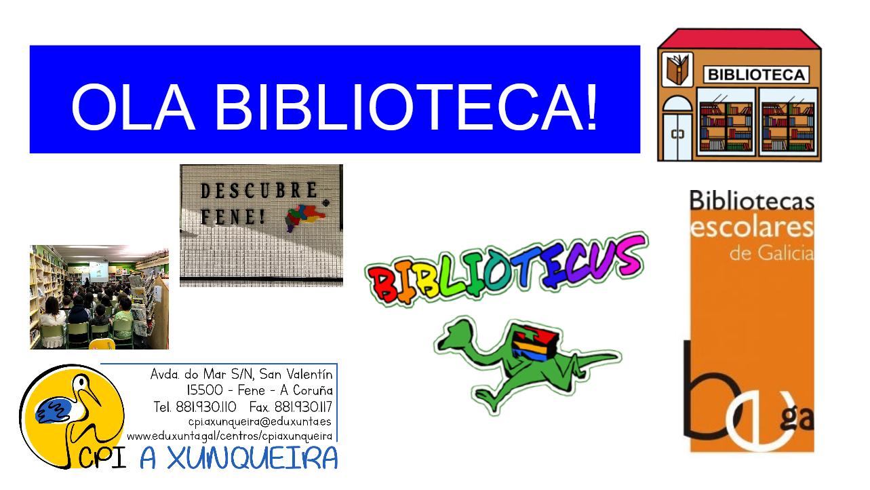 Ola biblioteca!!!