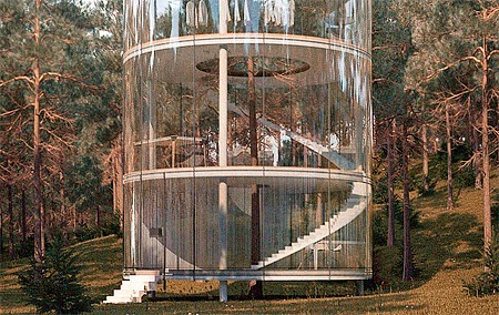 Glass House Bottom