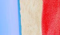 флаг Франции в виде природы