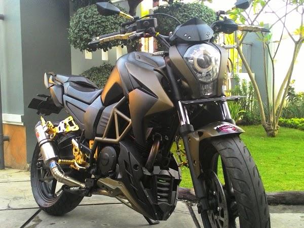 Yamaha Byson lansiran 2012 ini layaknya KTM Duke