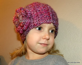 Swirls and Sprinkles: Crochet Winterberry Headwrap Pattern