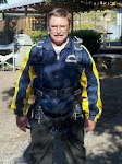 Brian getting ready to sky dive!