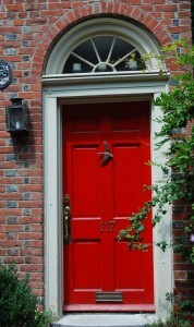 Turning A House Into A Home Creating Beauty On A Budget Shut - What does shut the front door mean