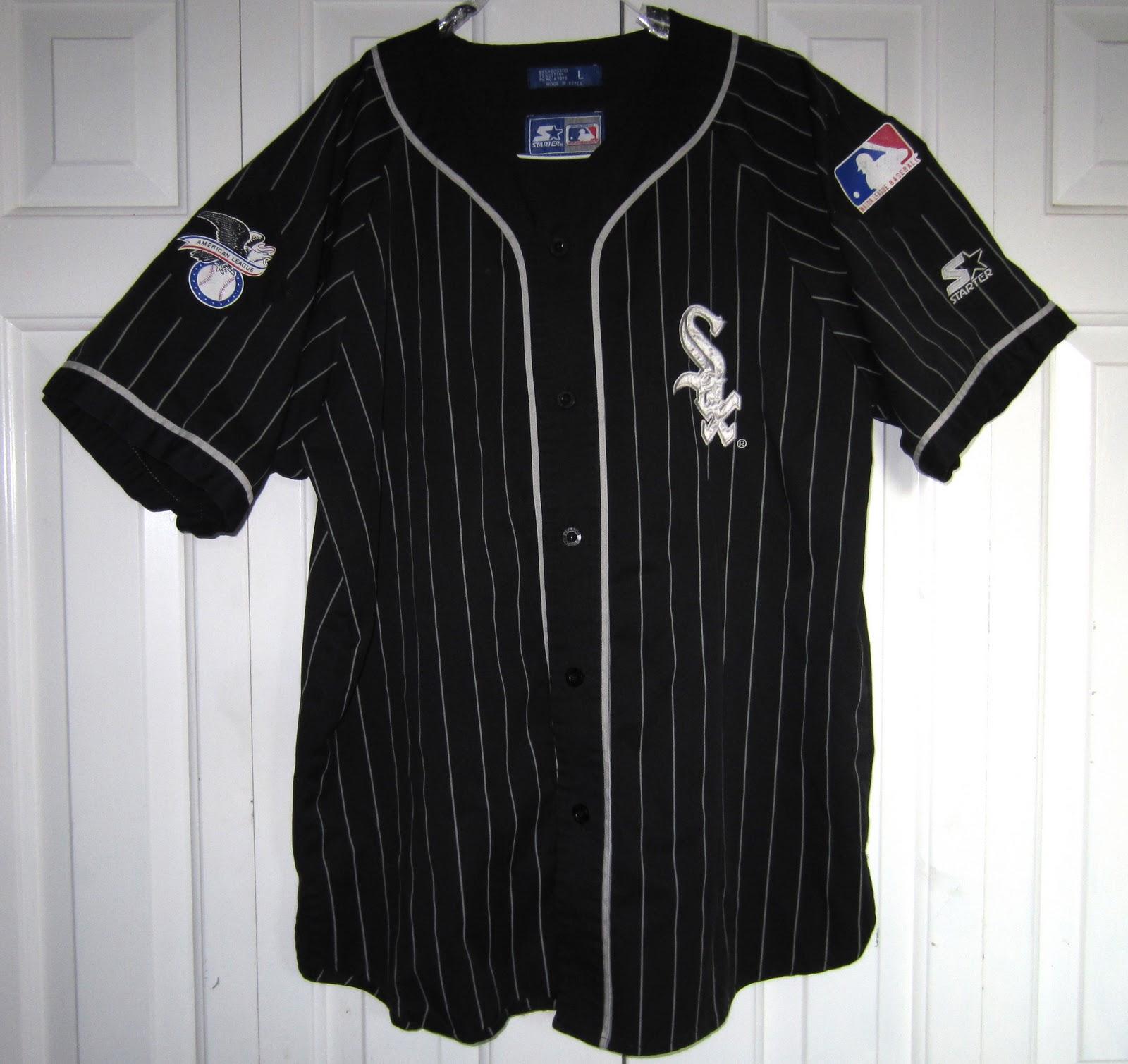 vintage sports apparel vintage chicago white sox starter