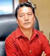 Bimal Gurung laid foundation stone for Gorkha Bhawan at Saket in Delhi