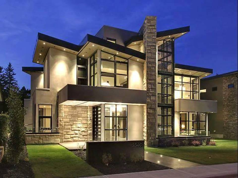 outstanding modern home designs canada ideas simple design home - Modern Custom Home Designs