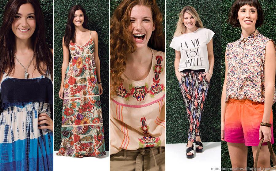 Ver primavera verano 2015. Moda 2015 en ropa de mujer.