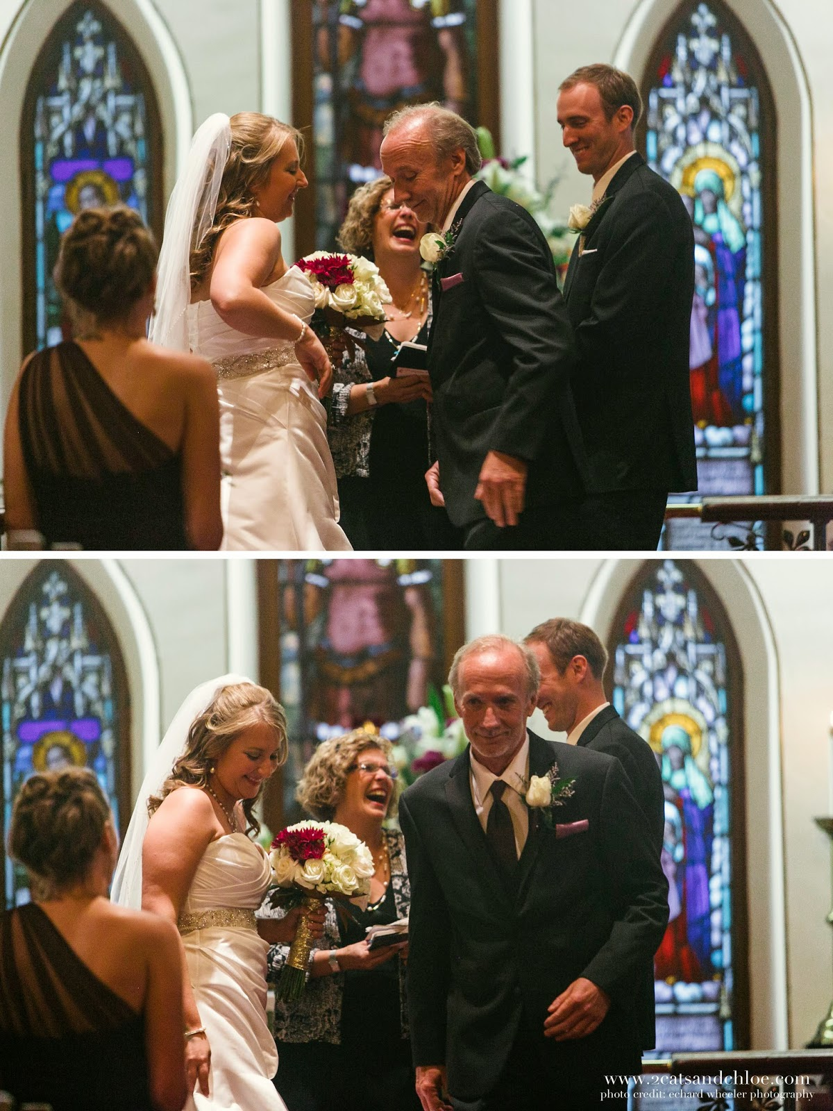 Funny wedding ceremony moments
