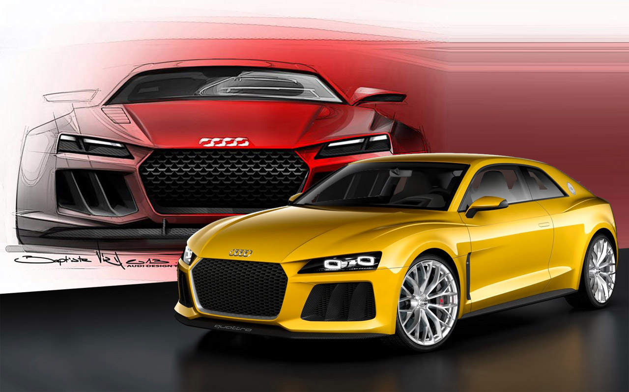audi quattro concept sold in europe automotive car manufacture. Black Bedroom Furniture Sets. Home Design Ideas