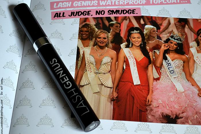 Anastasia Lash Genius Waterproof Top Coat Beverly Hills Mascara Makeup Reviews Beauty Blog Ingredients Use