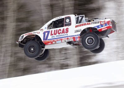 Trucks Winter Racing