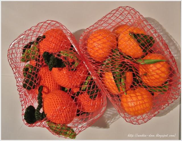 мандарины в упаковке