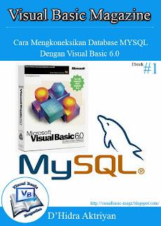 Download Free Ebook Cara Mengkoneksikan Database MySQL Dengan Visual Basic 6.0
