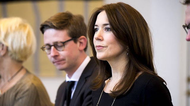 Crown Princess Mary of Denmark at the first planning meeting for the conference Women Deliver.