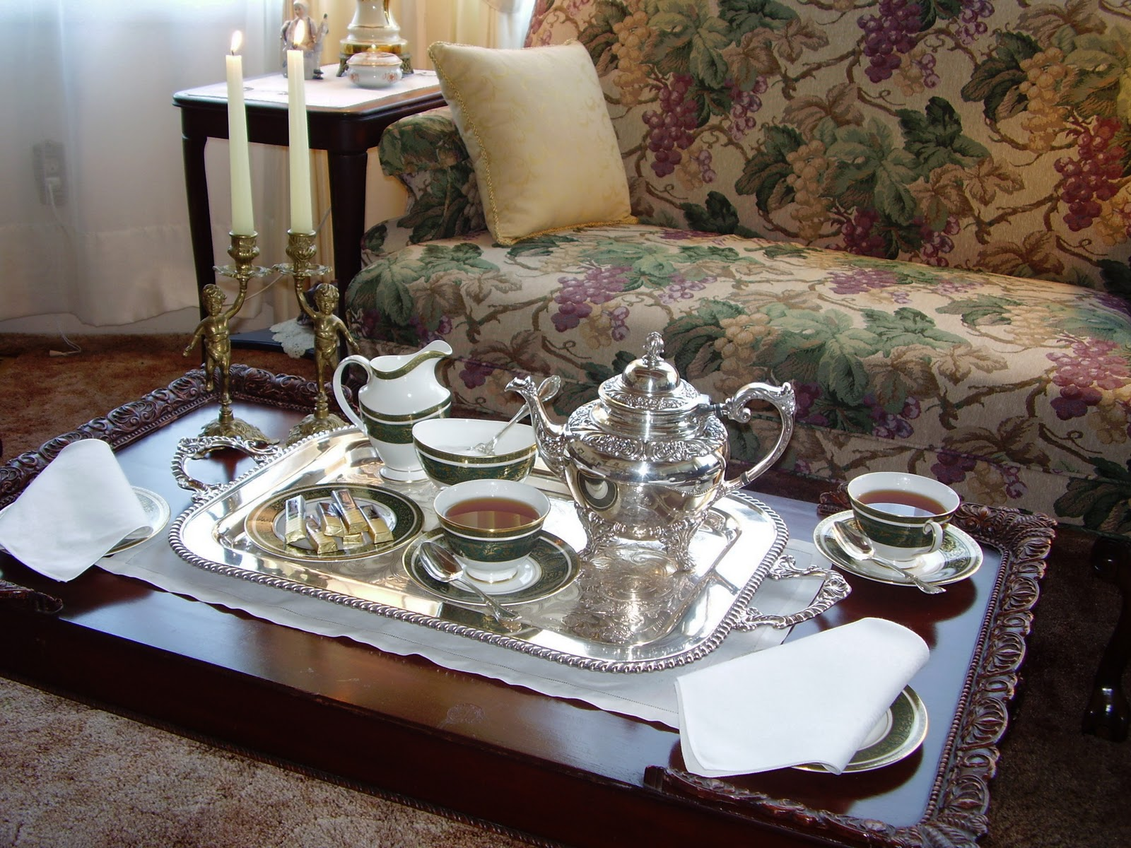 tea table settings tables - photo #6