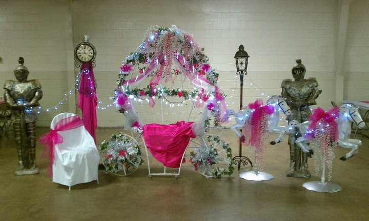 Gone crafting cinderella themed quincea era for Quinceanera decorations