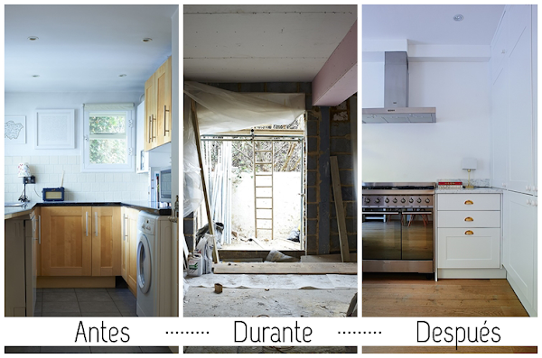 Antes despues decorar tu casa es - Reforma piso pequeno antes y despues ...