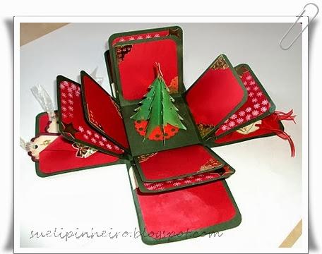 Exploding Box Navidad