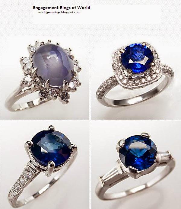 Engagement Ring Malawian Fashion 2014 Sapphire Diamond Engagement Ring 102
