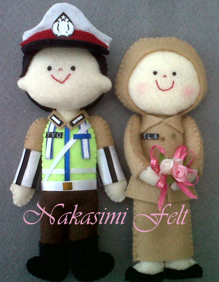 Download image Flanel Polisi Dan Perawat Boneka Couple Polantas PC ...
