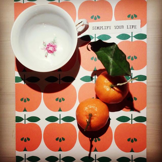 Thee mandarijn