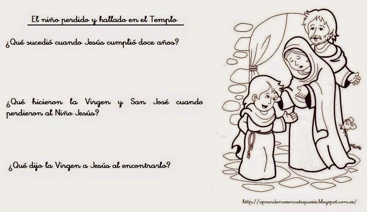 Virgen María, Ruega por Nosotros ®: TEMAS DE CATEQUESIS: EL NIÑO ...