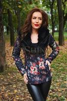 Palton LaDonna Autumnal Flowers Black (LaDonna)