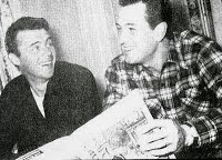 "Dirk & Rock read ""Films & Filming"", 1957"