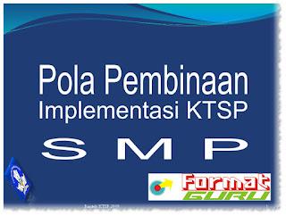 Download Format Guru Contoh Pola Pembinaan Implementasi KTSP SMP