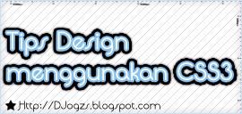 Tips Design menggunakan CSS3