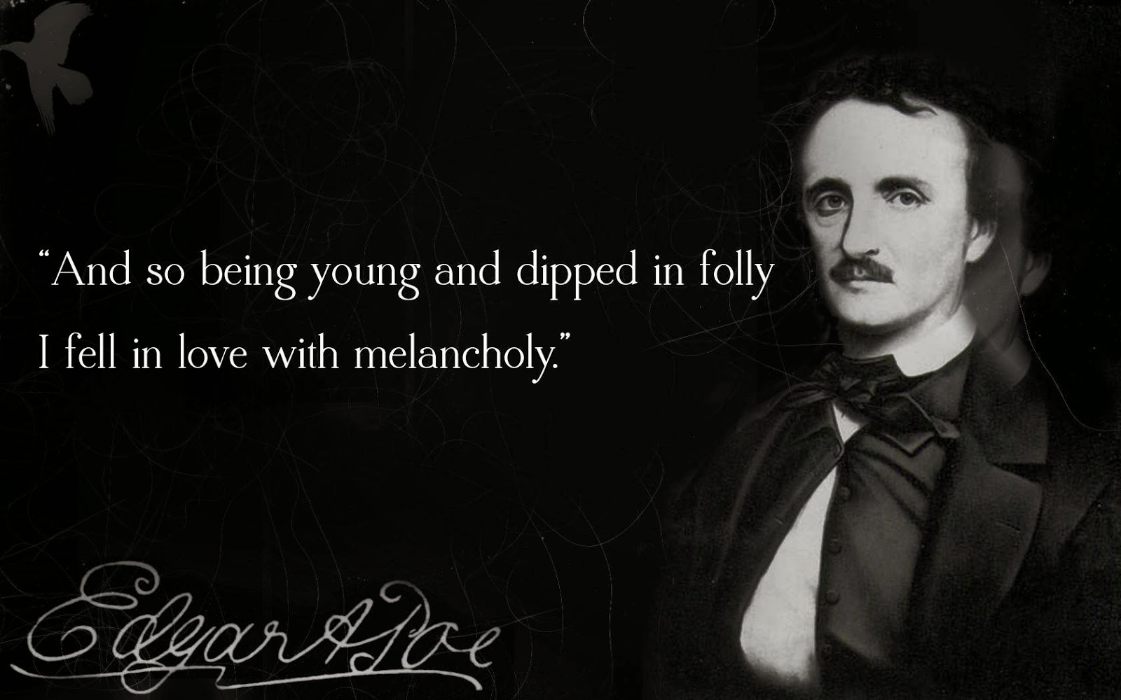 edgar allan poe s life and how Poe's life life milestones current events contemporary events 1809: 1809 edgar poe born in boston to actors david and eliza poe, 19 january.