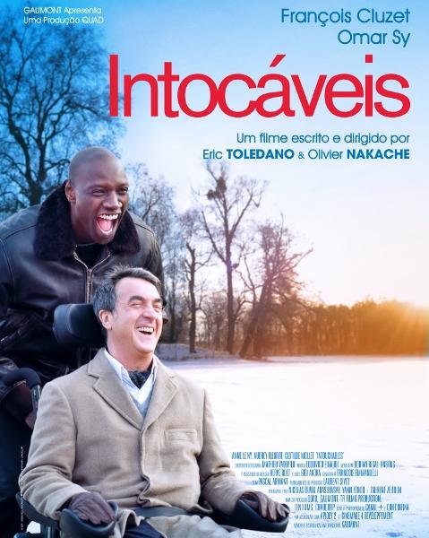 Intocáveis -Ano da produção: 2011 Direção: Olivier Nakache e Eric Toledano Elenco: François Cluzet, Omar Sy, Anne Le Ny, Audrey Fleurot