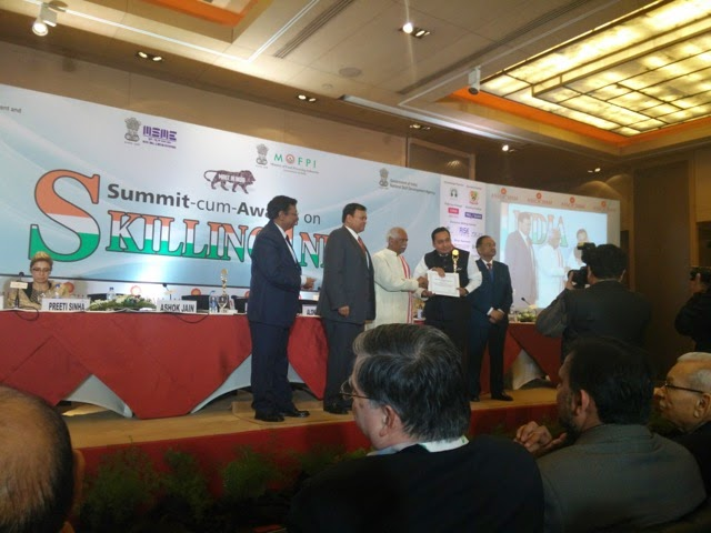 "Rise India honoured with ""Best Entrepreneur in MSME for Outstanding Performance"